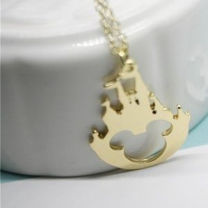 Other - Fairy tale castle Mickey necklace